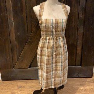 Plaid racerback dress
